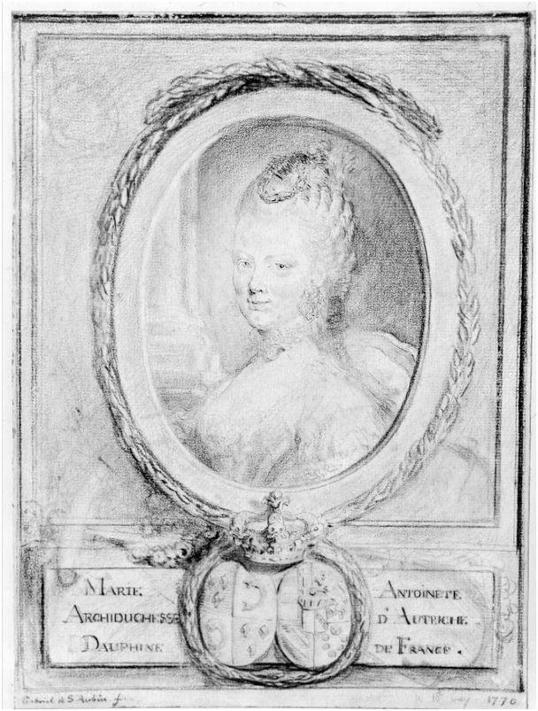 """Exposition """"Marie-Antoinette"""" de 1955 - Page 2 Dessin17"""