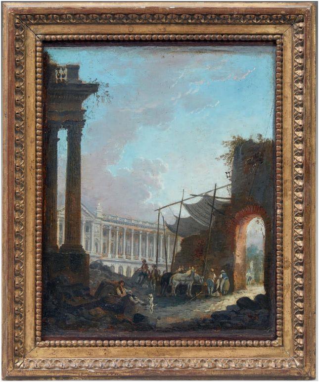 Exposition Pierre-Antoine Demachy à Versailles Peint110