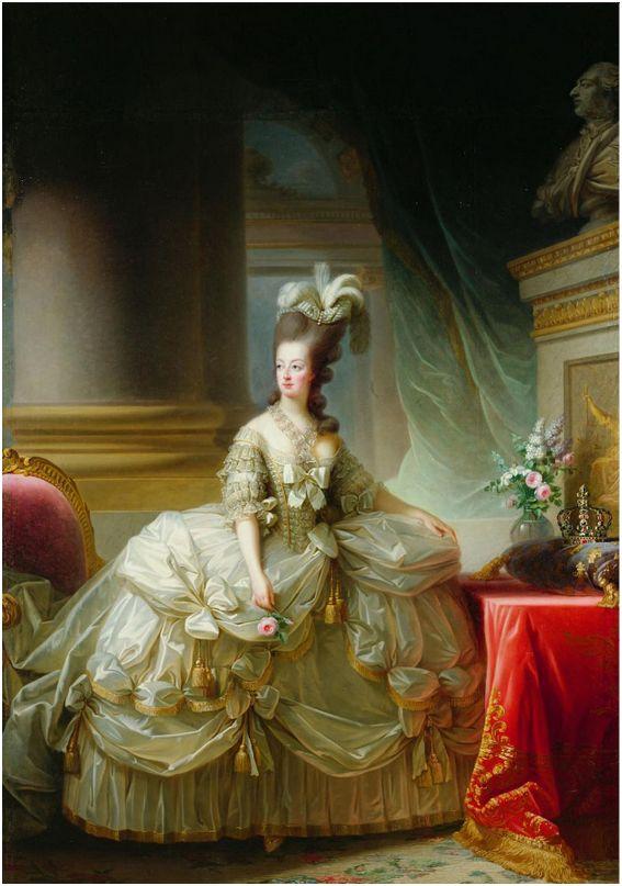 """Exposition """"Marie-Antoinette"""" de 1955 - Page 3 Peintu74"""