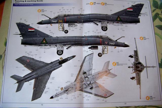 Ouvre-boîte Dassault Super-Etendard [Kittyhawk 1/48] 100_0533