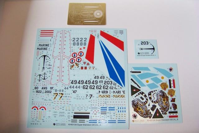 Ouvre-boîte Dassault Super-Etendard [Kittyhawk 1/48] 100_0535