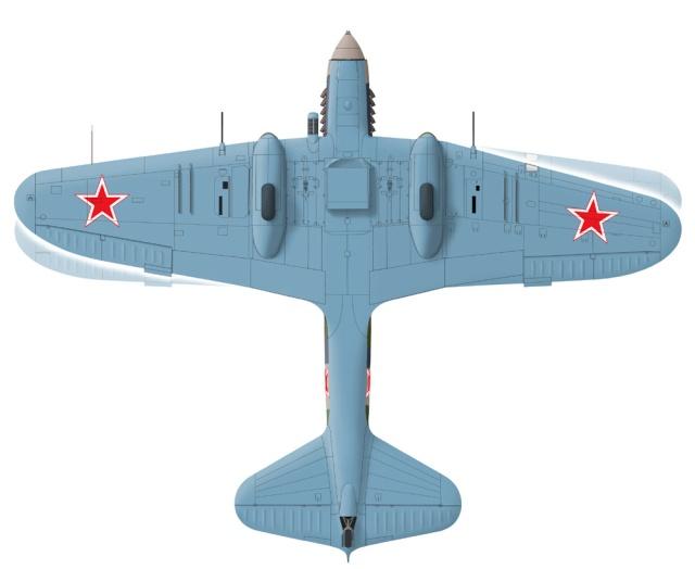 IL2-M3 Sturmovik Tamiya 1/48 Compar11
