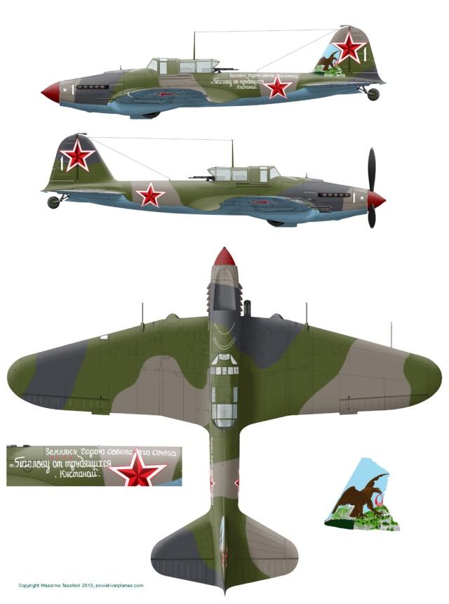 IL2-M3 Sturmovik Tamiya 1/48 Il2m3-10
