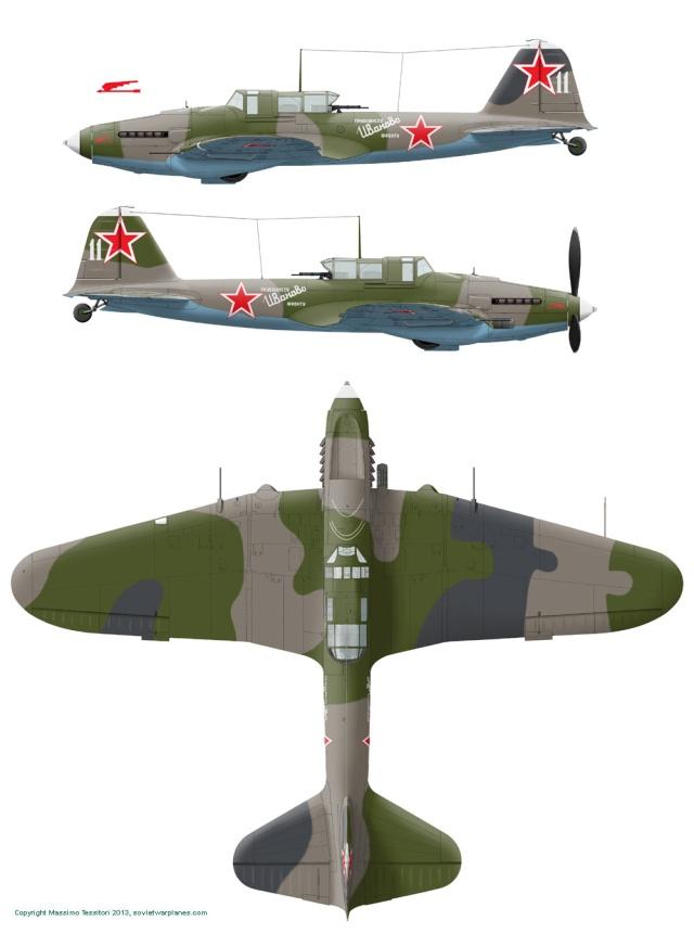 IL2-M3 Sturmovik Tamiya 1/48 Il2m3-11