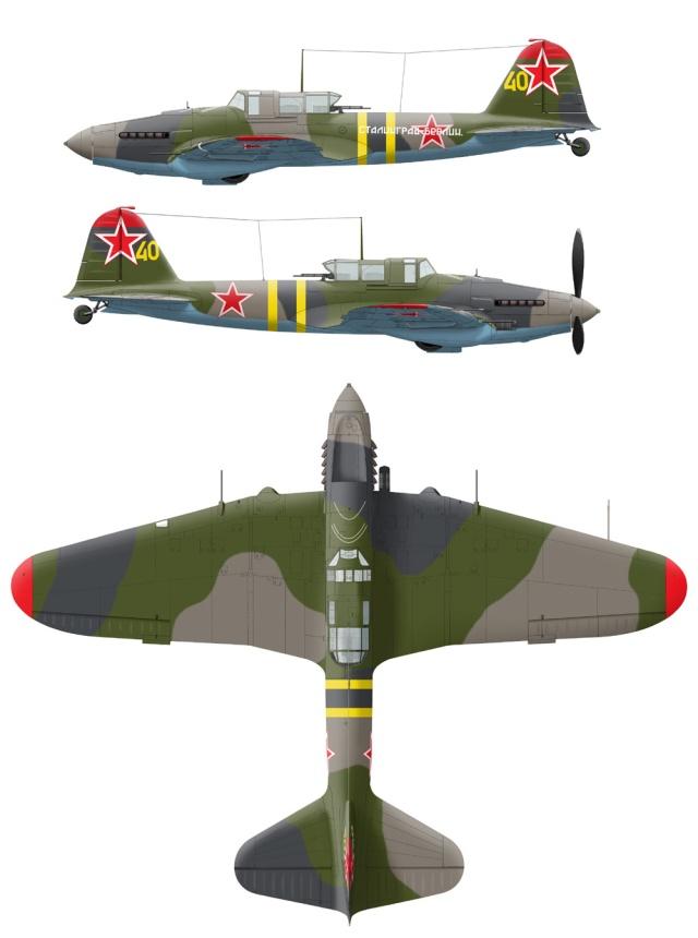 IL2-M3 Sturmovik Tamiya 1/48 Il2m3-12