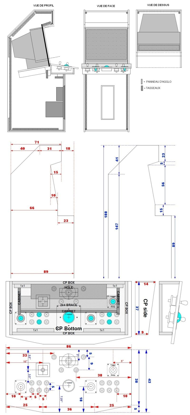 Projet Borne Arcade (Raspberry PI 3 / Recalbox) Sans-t10