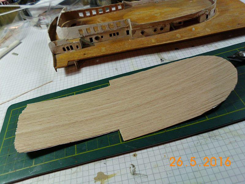 TS Bremen V - Restaurationsbericht zu einem alten Modellschiff in 1/200 - Seite 4 0d10