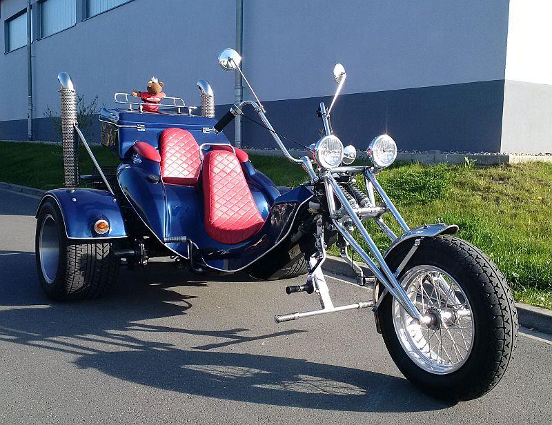 """Trike - auf dem Parkplatz """"schnappgeschossen""""  125"""