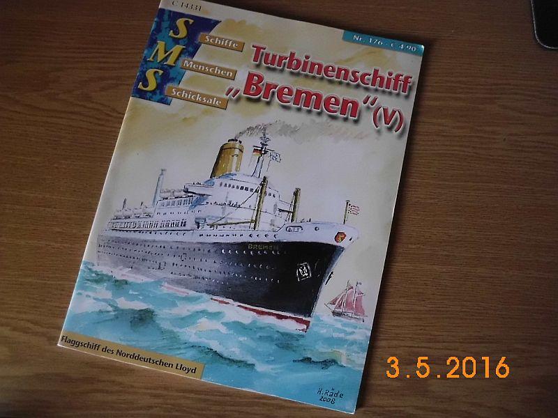 TS Bremen V - Restaurationsbericht zu einem alten Modellschiff in 1/200 - Seite 3 129