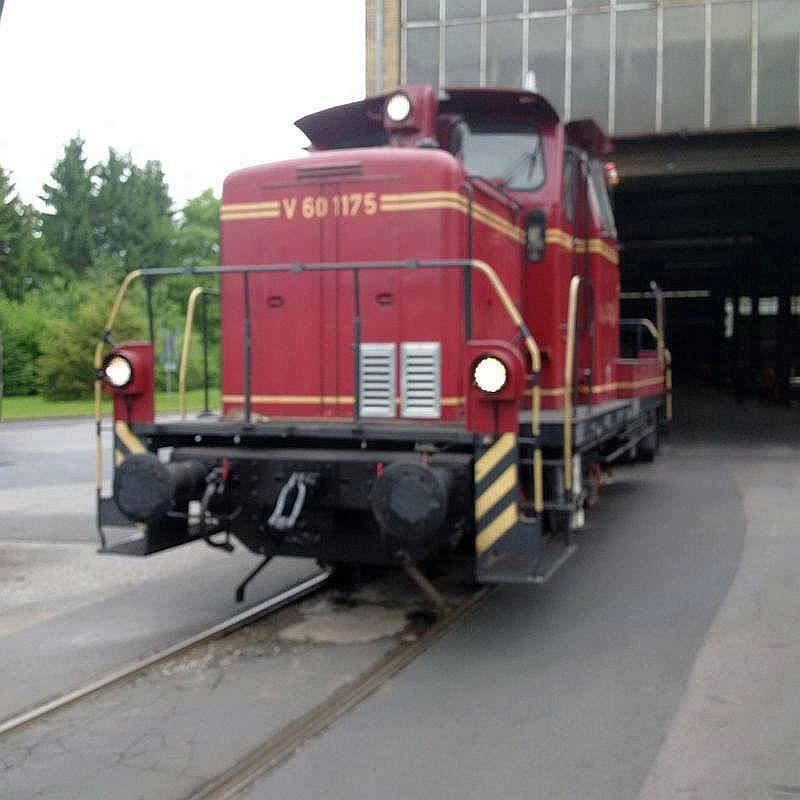 V60 1175, ex DB 261 175, jetzt Werkslok  130