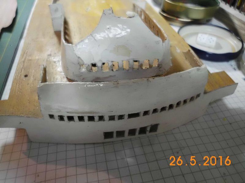 TS Bremen V - Restaurationsbericht zu einem alten Modellschiff in 1/200 - Seite 4 131