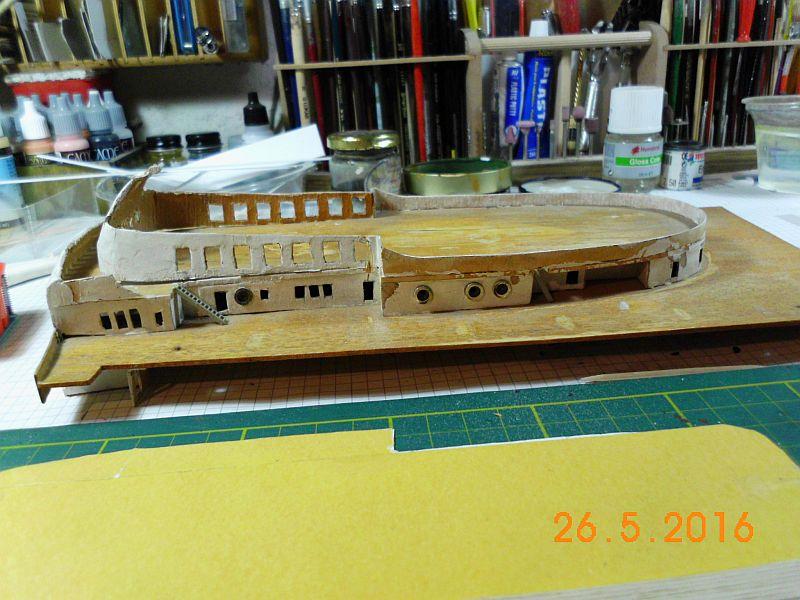 TS Bremen V - Restaurationsbericht zu einem alten Modellschiff in 1/200 - Seite 4 1b10