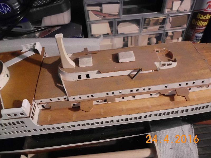 TS Bremen V - Restaurationsbericht zu einem alten Modellschiff in 1/200 - Seite 3 215