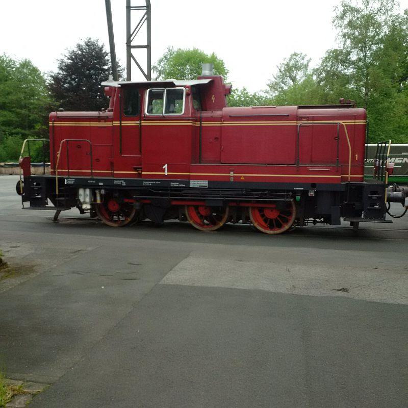 V60 1175, ex DB 261 175, jetzt Werkslok  223