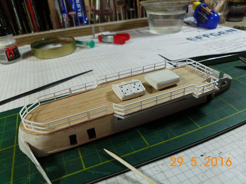 TS Bremen V - Restaurationsbericht zu einem alten Modellschiff in 1/200 - Seite 4 224