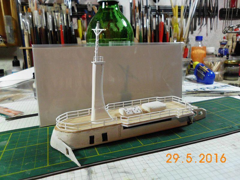TS Bremen V - Restaurationsbericht zu einem alten Modellschiff in 1/200 - Seite 4 325