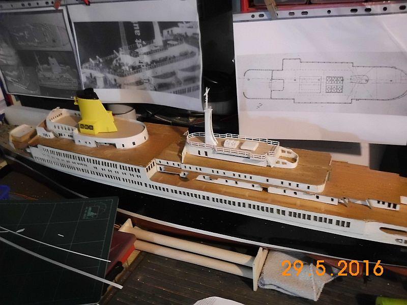 TS Bremen V - Restaurationsbericht zu einem alten Modellschiff in 1/200 - Seite 4 423