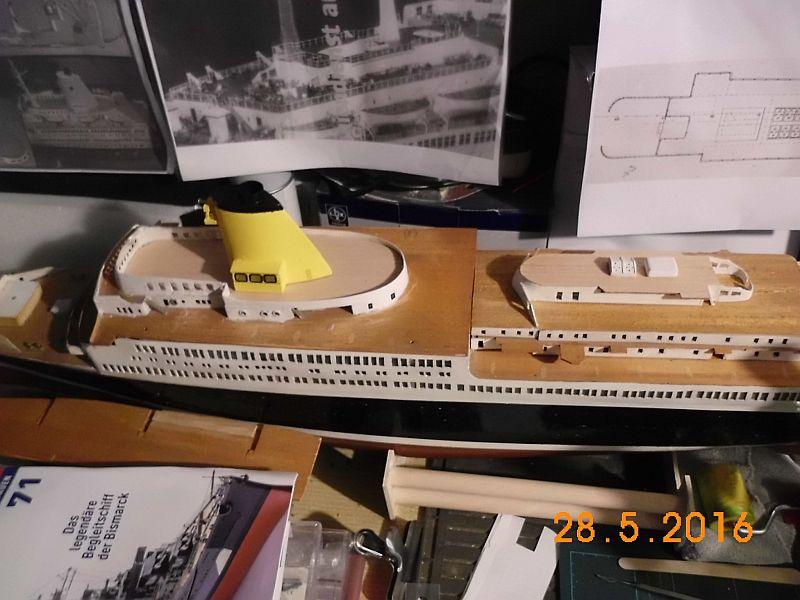 TS Bremen V - Restaurationsbericht zu einem alten Modellschiff in 1/200 - Seite 4 517