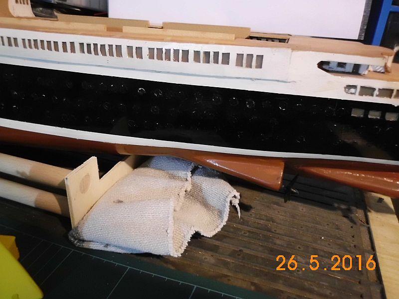 TS Bremen V - Restaurationsbericht zu einem alten Modellschiff in 1/200 - Seite 4 617