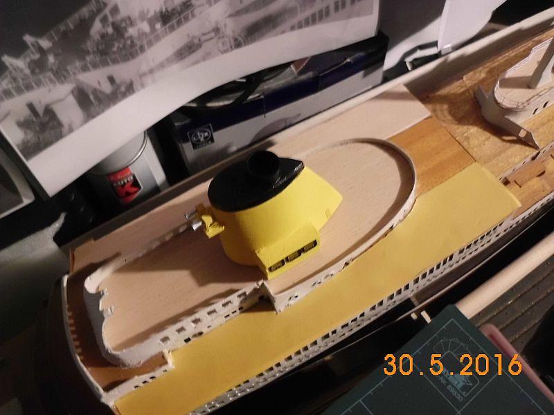 TS Bremen V - Restaurationsbericht zu einem alten Modellschiff in 1/200 - Seite 4 814