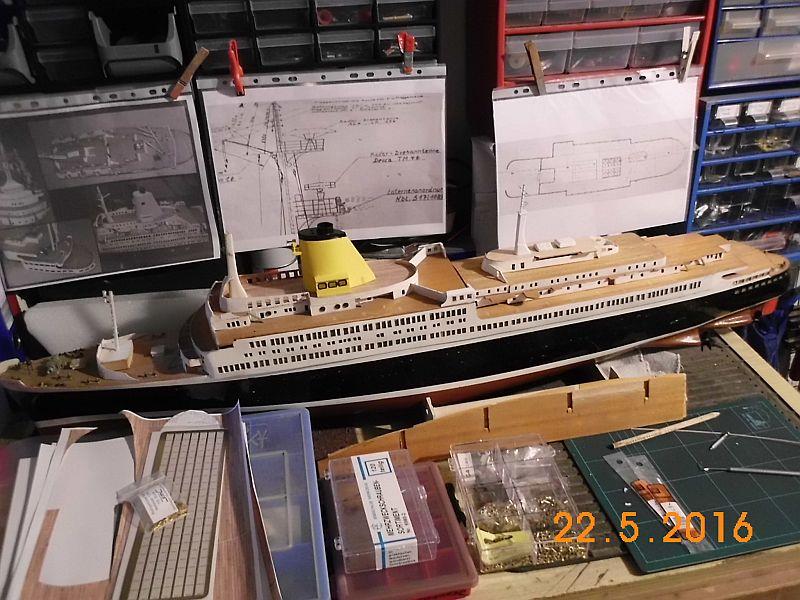 TS Bremen V - Restaurationsbericht zu einem alten Modellschiff in 1/200 - Seite 3 911