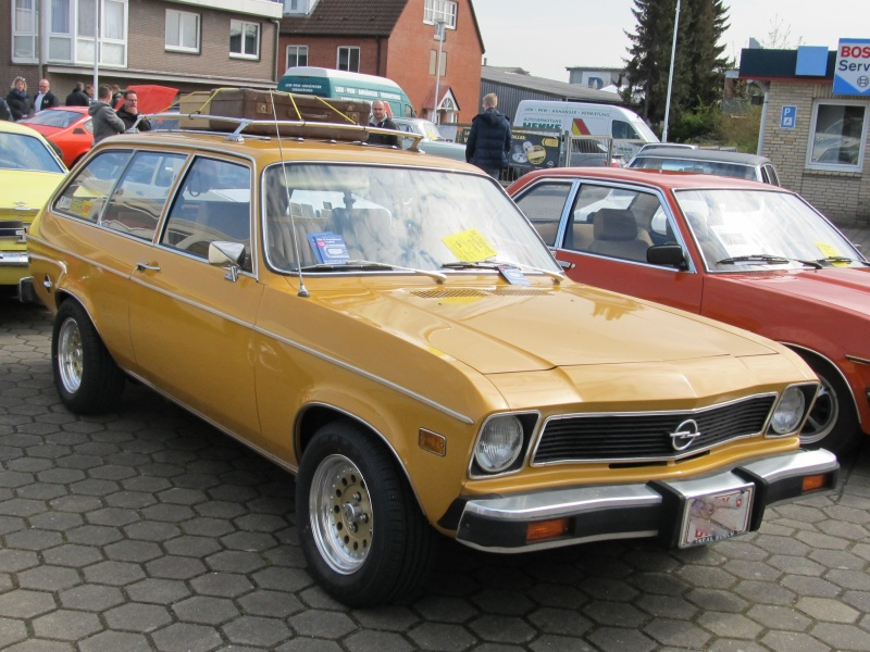 Opel-Treffen in Wedel Ascona12