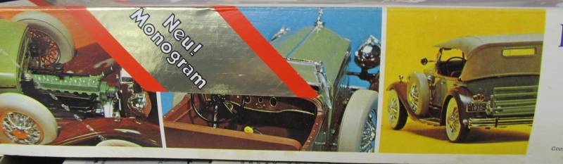 1930 Packard Speedster Phaeton Model 734 (Monogram Maßstab 1 zu 24) Img_3912