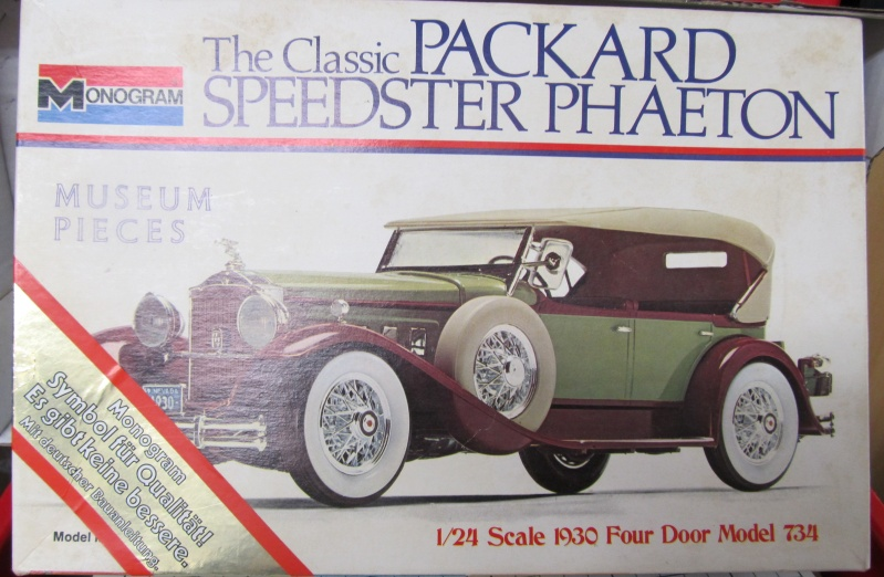 1930 Packard Speedster Phaeton Model 734 (Monogram Maßstab 1 zu 24) Img_3915