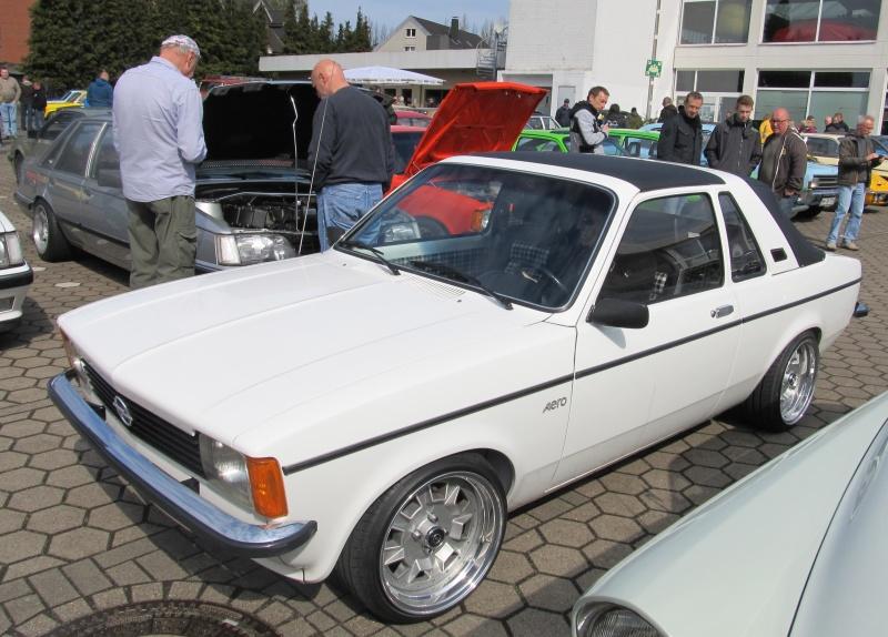 Opel-Treffen in Wedel Kadett14