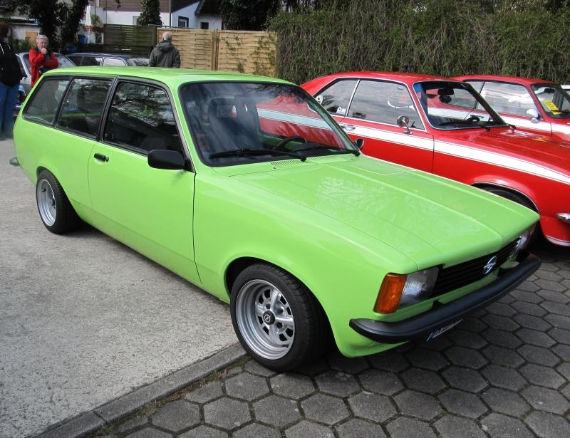 Opel-Treffen in Wedel Kadett15