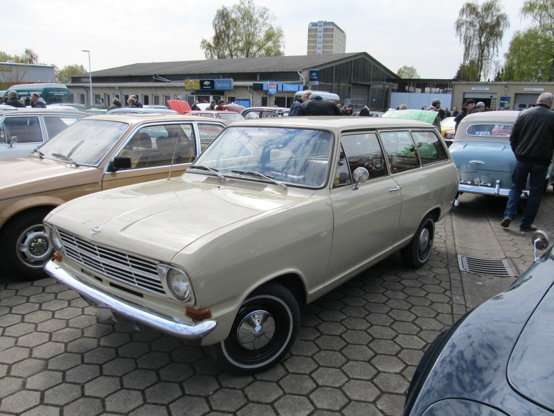 Opel-Treffen in Wedel Kadett18