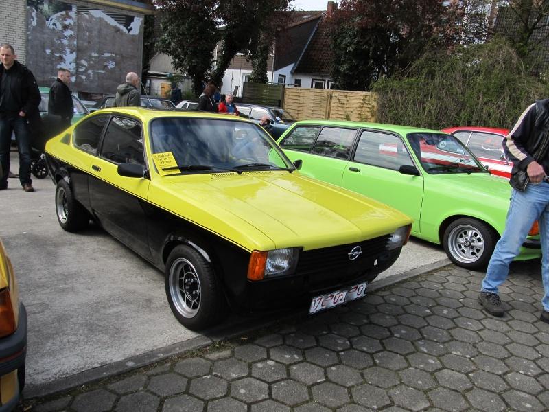 Opel-Treffen in Wedel Kadett19