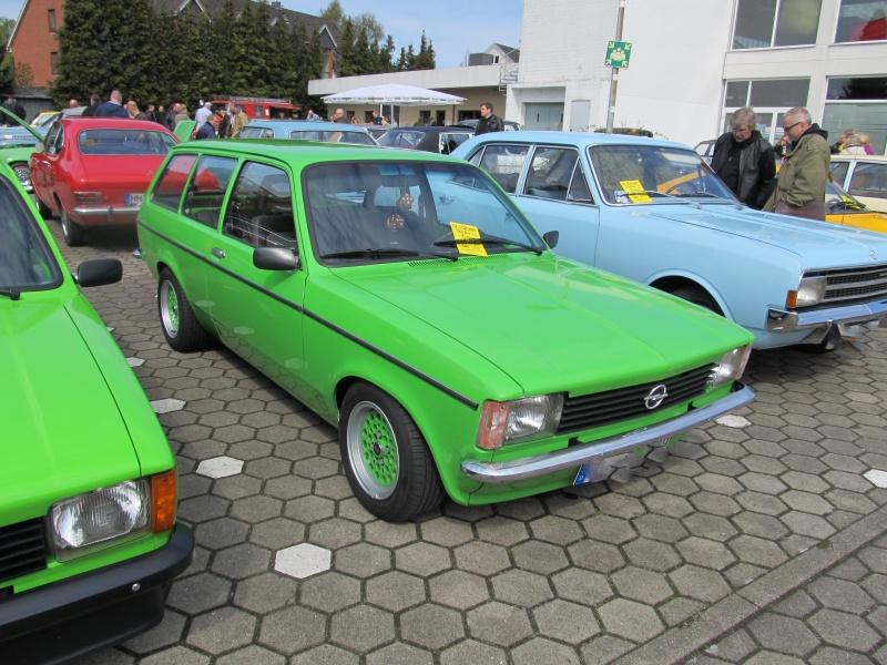 Opel-Treffen in Wedel Kadett20