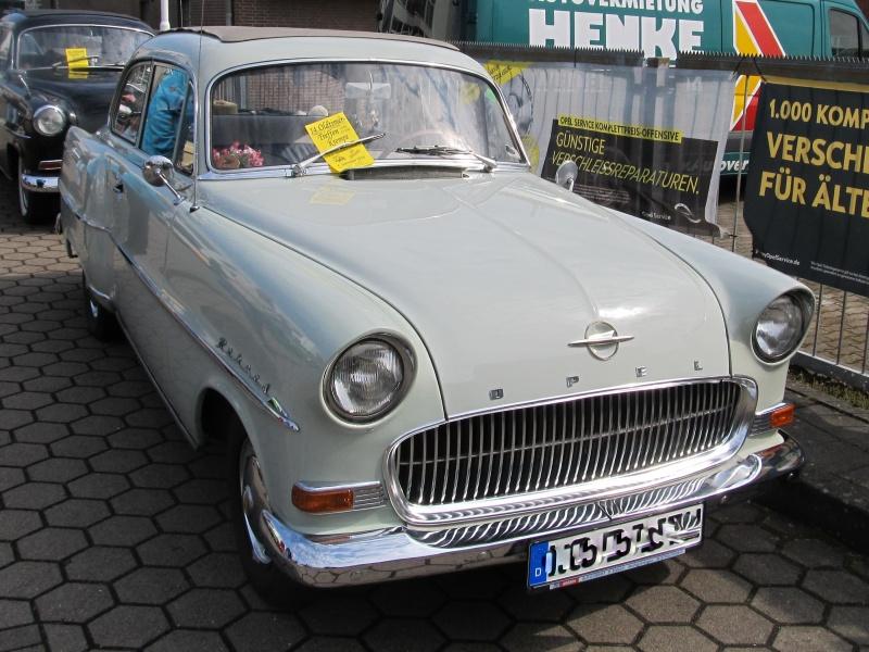 Opel-Treffen in Wedel Olympi12