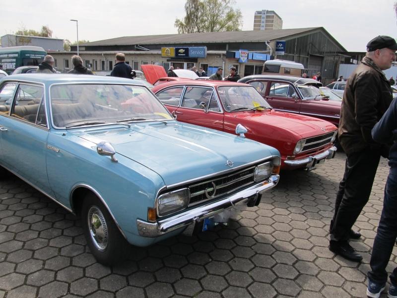 Opel-Treffen in Wedel Rekord10