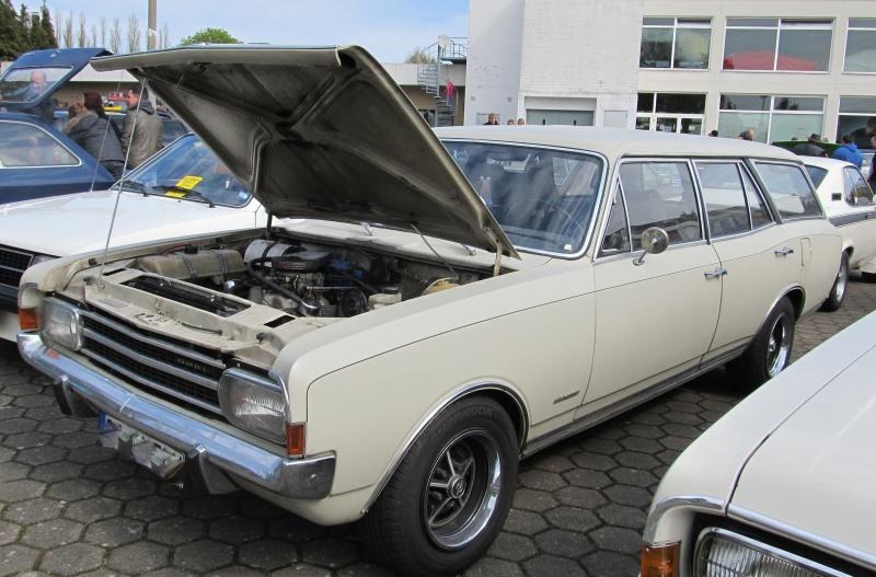 Opel-Treffen in Wedel Rekord11
