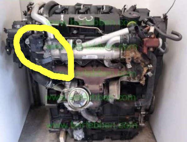 [ Peugeot 3008 2.0 hdi an 2014 ] Ou se trouve l'électrovanne EGR ? Rhr10