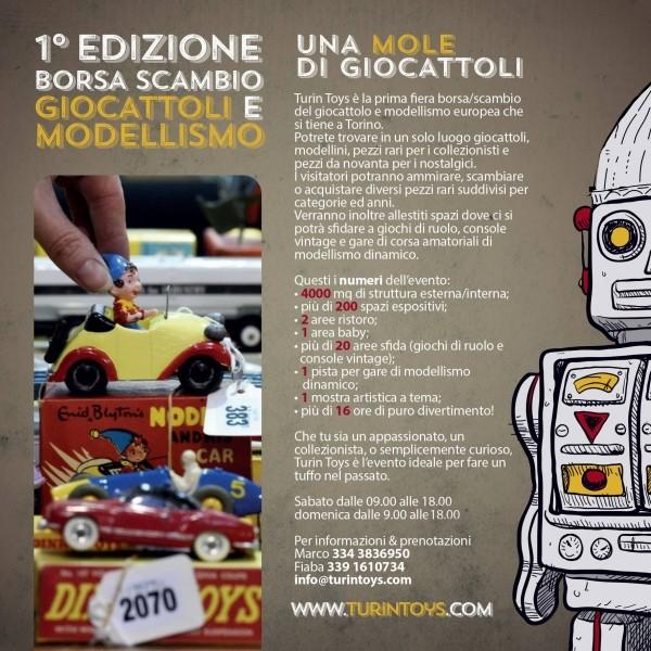 TURIN TOYS 7-8 Maggio 2016 Giocattoli e modellismo!! Turin-10