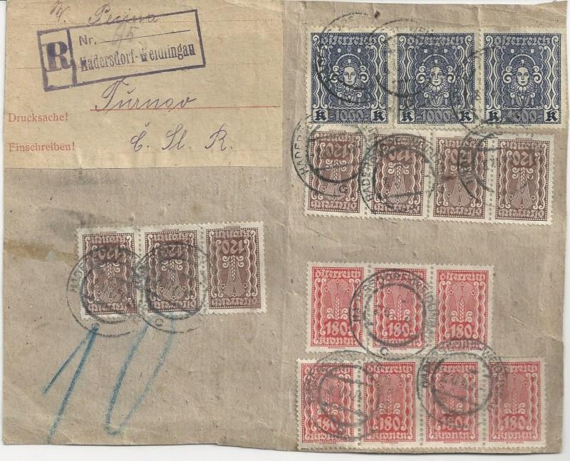 Inflation in Österreich - Belege - 1918 bis 1925 - Seite 7 Bild28