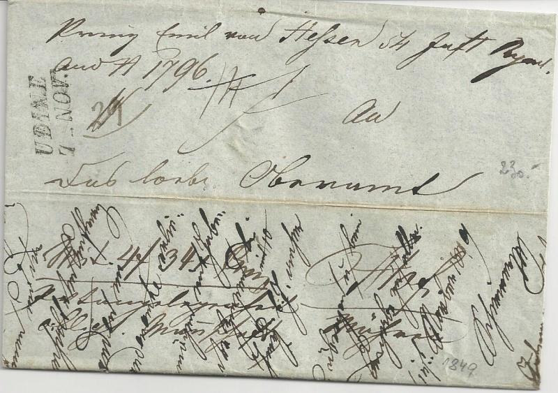 Vorphilatelie Österreich  -   Briefe aus der Vormarkenzeit - Seite 2 Bild38