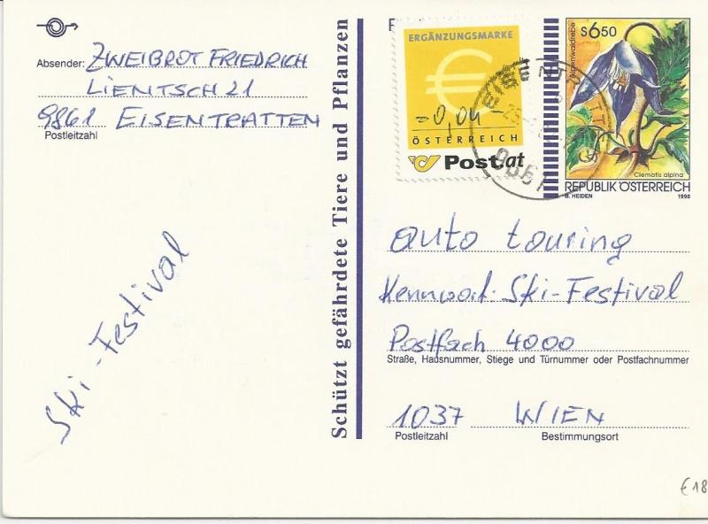 Österreich - Ergänzungsmarke  - Seite 2 Bild41