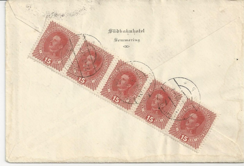 Die Auslandsexpreßgebühr ab 1.9.1918 Bild_111