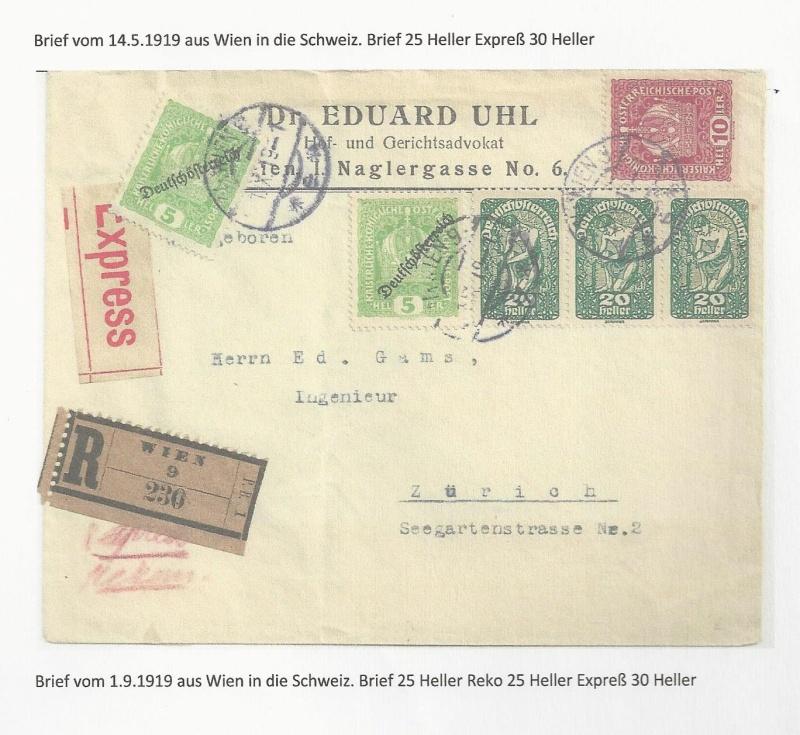 Die Auslandsexpreßgebühr ab 1.9.1918 Bild_112
