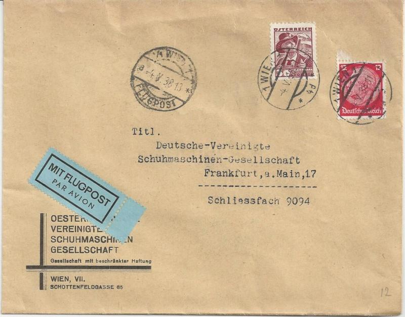 Österreich im III. Reich (Ostmark) Belege - Seite 7 Bild_218