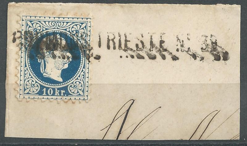 Nachtrag - Freimarken-Ausgabe 1867 : Kopfbildnis Kaiser Franz Joseph I - Seite 12 Bild_230
