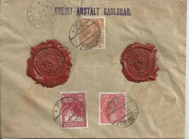 Deutsches Reich / Postüberwachungsstellen 1914 - 1918 Bild_235
