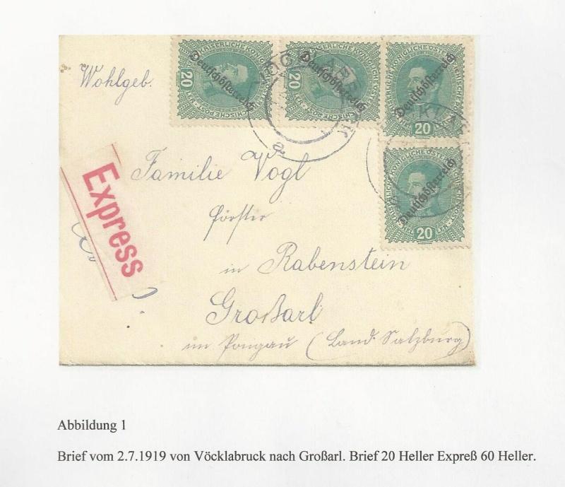 Die Auslandsexpreßgebühr ab 1.9.1918 Bild_238