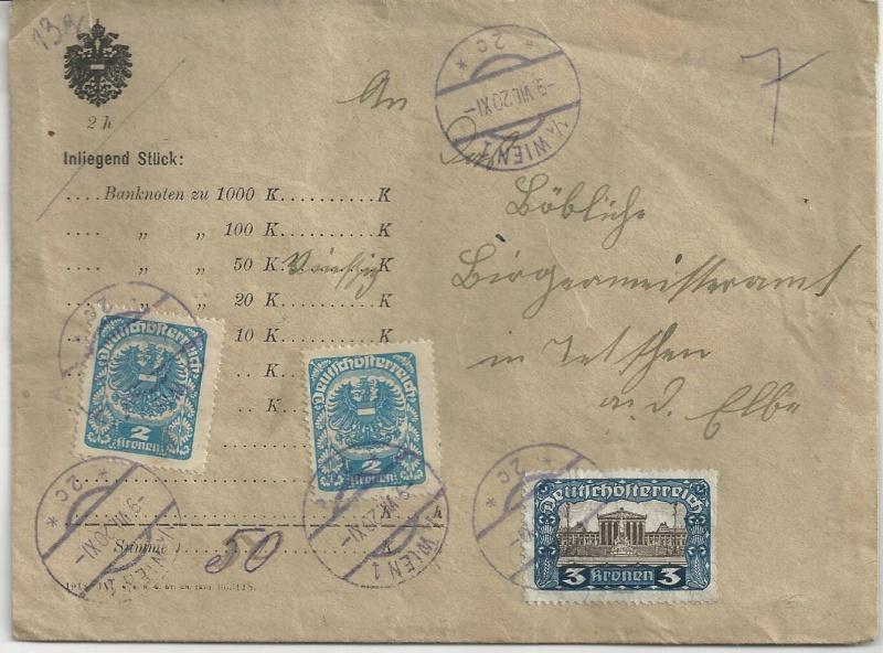 Inflation in Österreich - Belege - 1918 bis 1925 - Seite 7 Bild_243