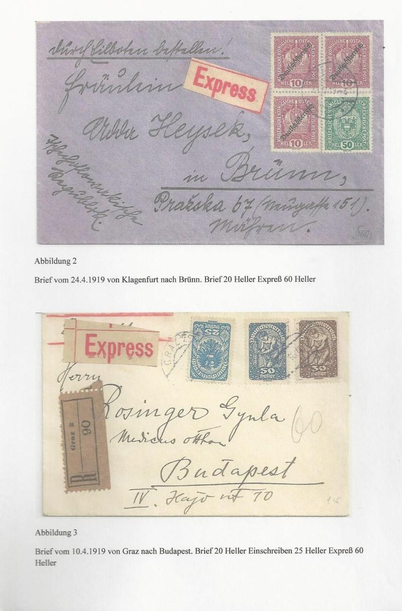 Die Auslandsexpreßgebühr ab 1.9.1918 Bild_332