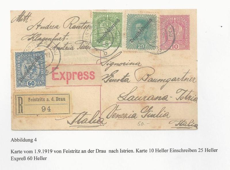 Die Auslandsexpreßgebühr ab 1.9.1918 Bild_422